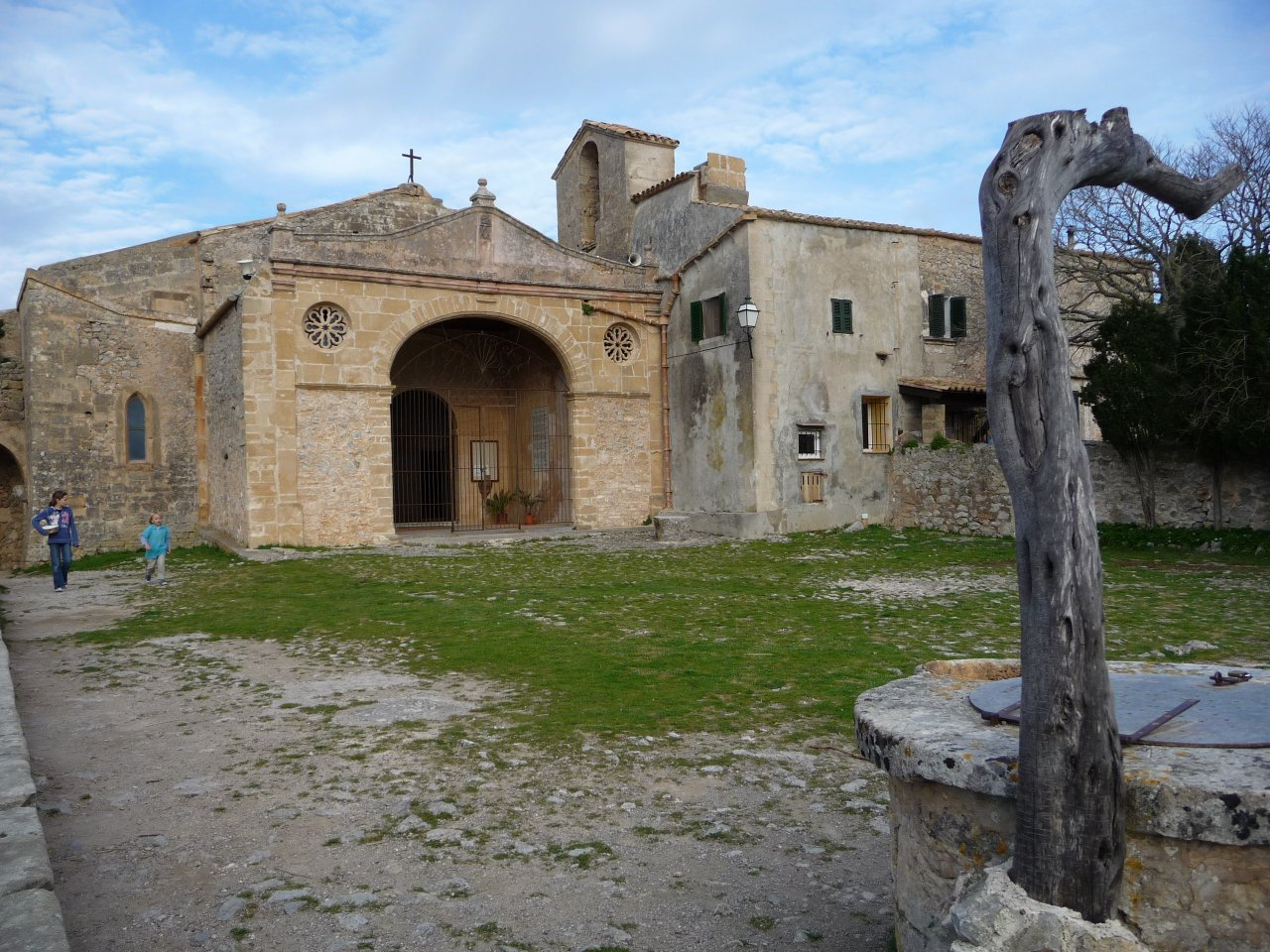 monastry puig maria church