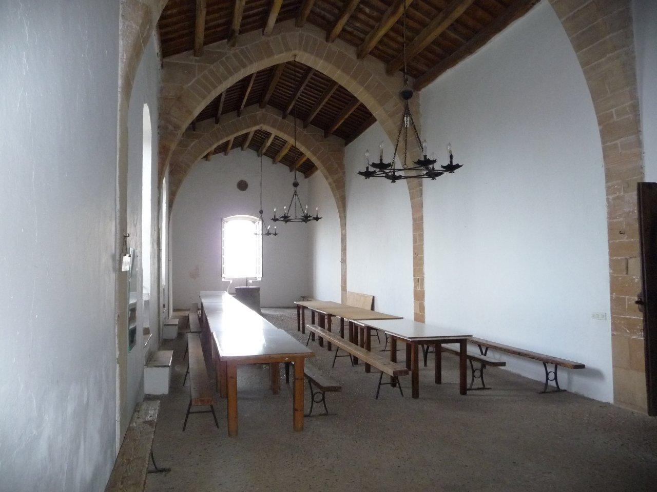 monastry puig maria dining hall