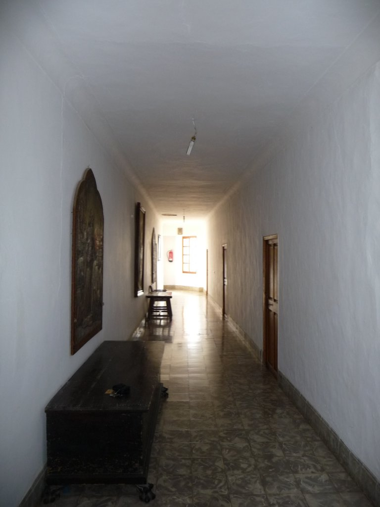monastry puig maria upstairs coridoor