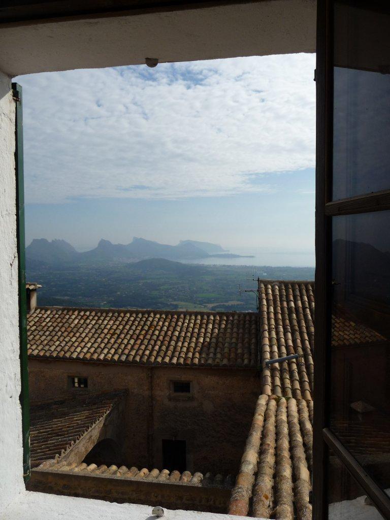 monastry puig maria bedroom view