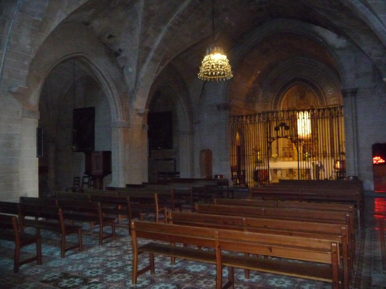 monastry puig maria church internal