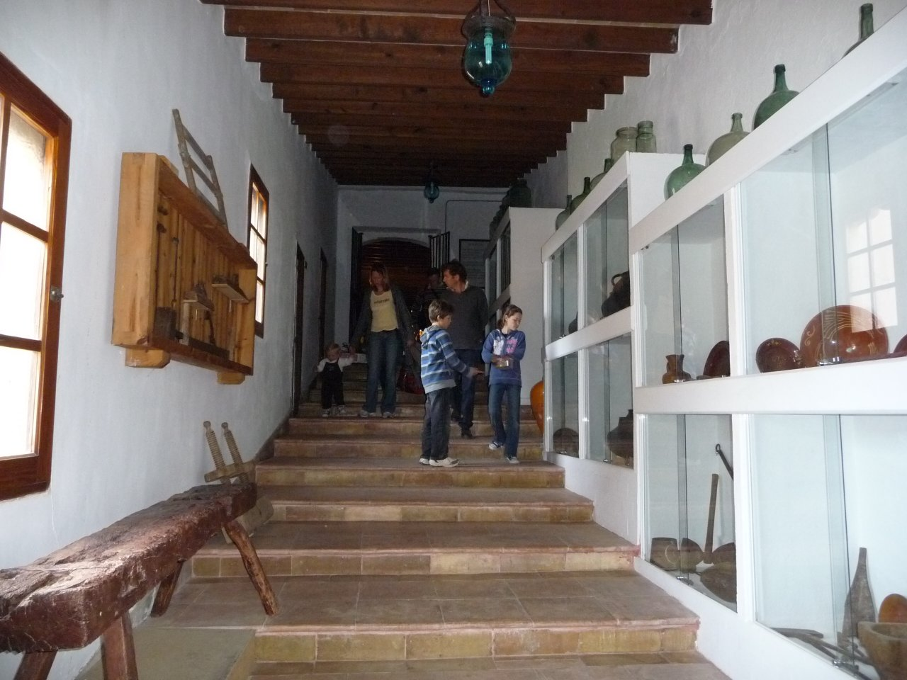 monastry puig maria corridor
